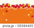 紅葉の背景素材 56384405