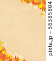 背景-和-和風-和柄-和紙-紅葉-秋 56385804