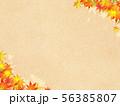 背景-和-和風-和柄-和紙-紅葉-秋 56385807