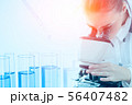 Science research lap chemical test drop background 56407482