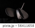 Forged Sand Wedges Heads on a Black Background 56411658