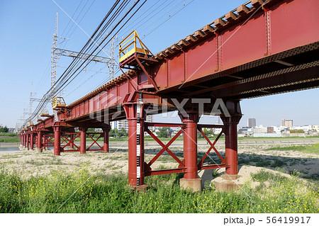 南海高野線大和川橋梁 56419917