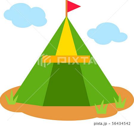 かわいいレジャー用のテント 56434542