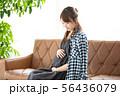 人物 女性 妊娠の写真 56436079