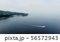 ウトロの海と船 56572943