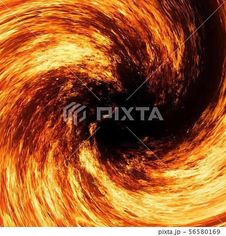 炎の渦のイラスト素材 [56580169] - PIXTA