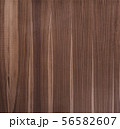 Black walnut wood texture from narrow planks vertical untreated 56582607