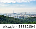 view of seoul from achasan mountain 56582694