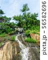achasan waterfall in summer 56582696