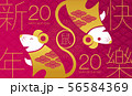 Happy new year, 2020, Chinese new year greetings, 56584369