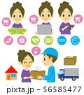 通販 注文と配送 セット 56585477