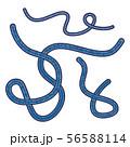 エボラウイルス ベクター イラスト クリップアート 56588114