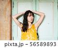 女性 夏 UVケア ファッション 56589893