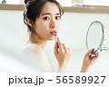 女性 メイク 化粧 リップ 口紅 56589927