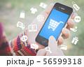 mobile shopping concept 56599318
