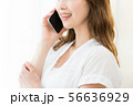 女性 アジア人 スマホの写真 56636929
