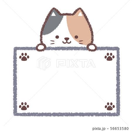 三毛猫案内板-足跡 56653580