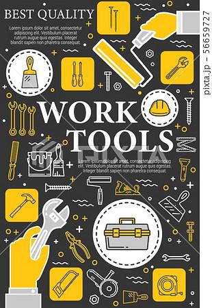 Construction, repair and renovation hand tools 56659727