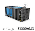 Converted old shipping container into swimming 56669683