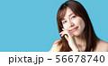 美容 ヘアケア 女性の写真 56678740