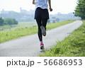 ランニング ランナー 女性 56686953