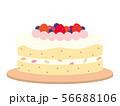 デコレーションケーキ 56688106