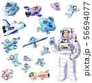 人工衛星などの宇宙開発 56694077