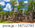 カンボジア・コーケー遺跡群の風景・1 56712783