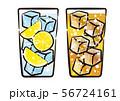 レモンサワーとハイボール 56724161