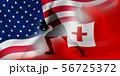 アメリカ トンガ ラグビー  国旗  56725372