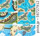 Set of aerial view scenes 56727912