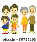 家族 親世帯 子世帯 56729193