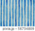 背景素材 布 木綿 藍染 56734809