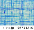 背景素材 布 木綿 藍染 56734810