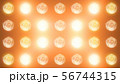 3D rendering of a wall with flashing lights 56744315