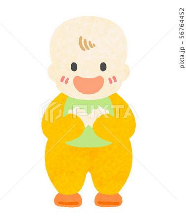 赤ちゃんの笑顔 56764452