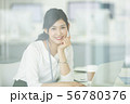 女性 ビジネスウーマン キャリアウーマンの写真 56780376