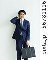 男性 ビジネス ビジネスマンの写真 56781116