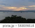 夕暮れの風景 ミャンマー マンダレー 56809818