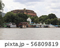 パゴダのある港町 ミングォン ミャンマー マンダレー 56809819