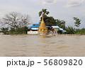 パゴダのある風景 ミャンマー マンダレー 56809820