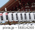 Pagoda And Lanterns Fragment In Authentic Style 56814260