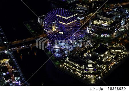 (神奈川県)横浜・みなとみらいの夜景 56828029