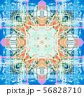 Abstract geometric symmetrical fractal pattern 56828710
