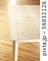 背景素材-無垢-机-フローリング 56832126