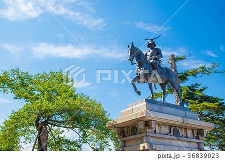 伊達政宗騎馬像 仙台市 56839023
