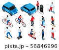 Eco Transport Isometric Set 56846996