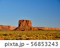 Rock formations in Monument Valley 56853243