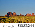 Rock formations in Monument Valley 56853244