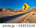 Artist's Drive in Death Valley 56853248